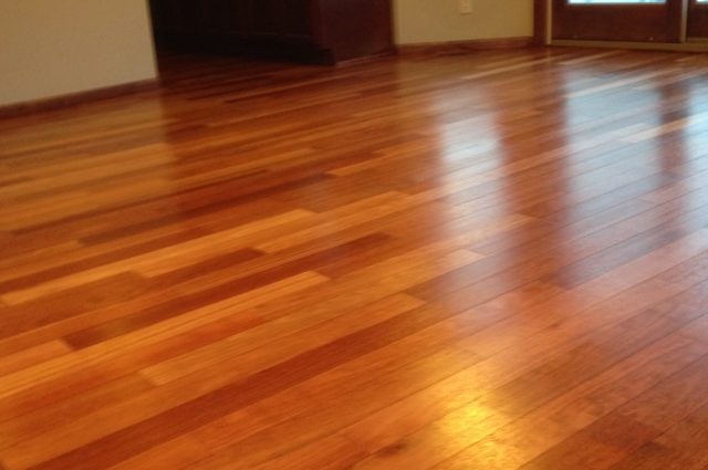 Refinishing Brazilian Cherry Wood Floors