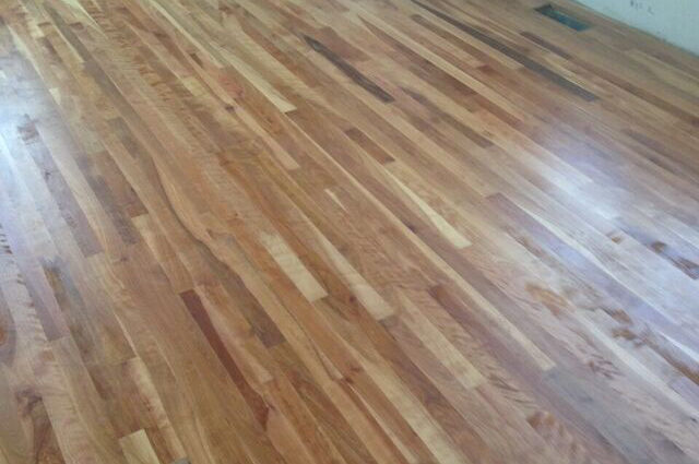 Birch Wood Floor Refinishing